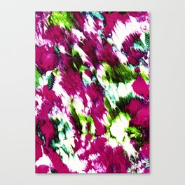 A Colorful Evolve Canvas Print