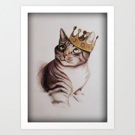 King Clyde Art Print