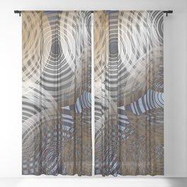 Warpdrive Sheer Curtain