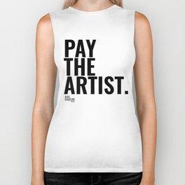 Pay The Artist Biker Tank