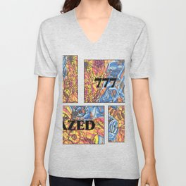 DAZED COMIC LIFE Unisex V-Neck