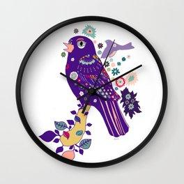 Sweet Peppy Wall Clock