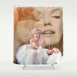 Marilyn Portrait Collage 3 Shower Curtain