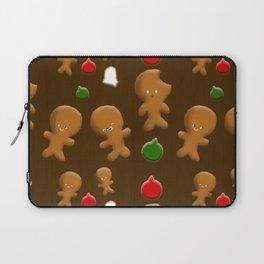 Gingerbread Men Pattern Laptop Sleeve