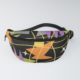 Mid Century Modern Abstract Pattern 765 Fanny Pack