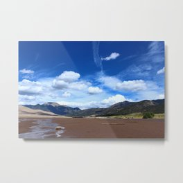 Sangre de Cristo Mountains Metal Print