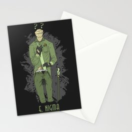E. Nigma Stationery Cards