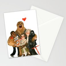 Force Awakens Hug! Stationery Cards