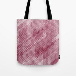 The Red Hash - Geometric Pattern Tote Bag