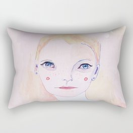 Mia Farrow Rectangular Pillow