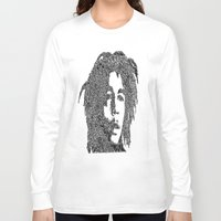 marley Long Sleeve T-shirts featuring Marley by Travis Poston