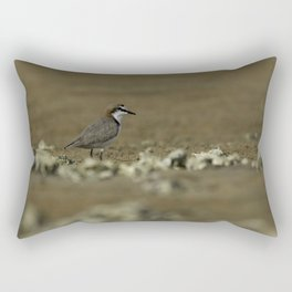 Red-Capped Plover Rectangular Pillow