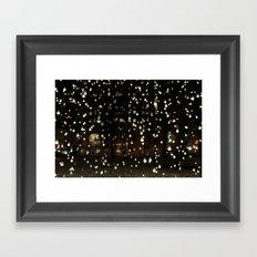 world on a string Framed Art Print
