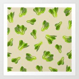 Bok Choy Vegetable Art Print