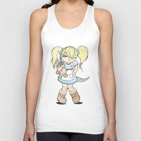 grumpy Tank Tops featuring Grumpy by Cloz000