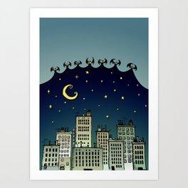 The Nightbringers Art Print