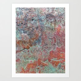 Ancient Metallics Art Print