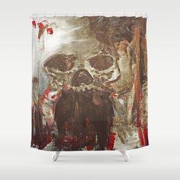 Happy Skull Shower Curtain