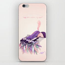 Just one of those days iPhone Skin