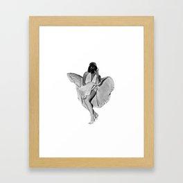 Provocative Vader Framed Art Print