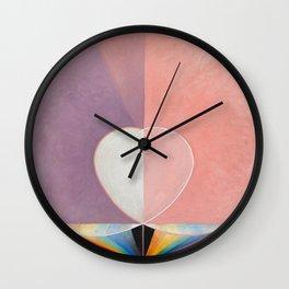 Doves No. 2 Hilma af Klint 1915 Wall Clock