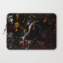 black labrador retriever dog wsstd Laptop Sleeve