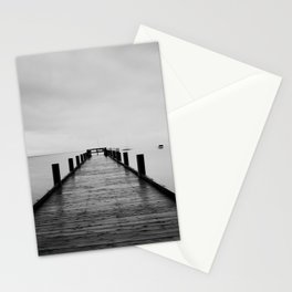 """ghost"" boats on Lake Tahoe after a storm Stationery Cards"