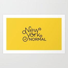 New York Normal Art Print