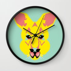 Skippy the Bush Kangaroo Wall Clock
