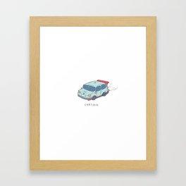 cartton Framed Art Print