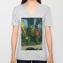 Turtle Paladin Unisex V-Neck