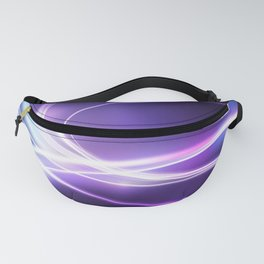 Nebula Abstract Glow Fanny Pack