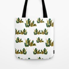 Cacti Pattern Tote Bag