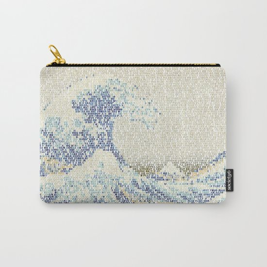 Riders On The Great Wave Carry-All Pouch