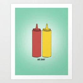 DAZED AND CONFUSED - AIR RAID! Art Print