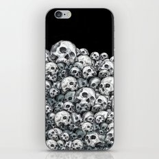 Skull Pattern iPhone & iPod Skin