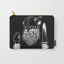 Hungry Viking Carry-All Pouch