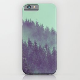 Adventure Awaits Forest iPhone Case