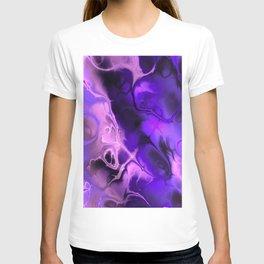 The Love For Violet Purple - Fractal Art T-shirt