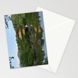 Gold Pavillion Stationery Cards