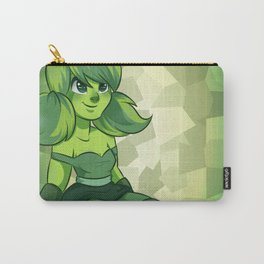 Peridot: Facet 1992 Cut 0814 Carry-All Pouch