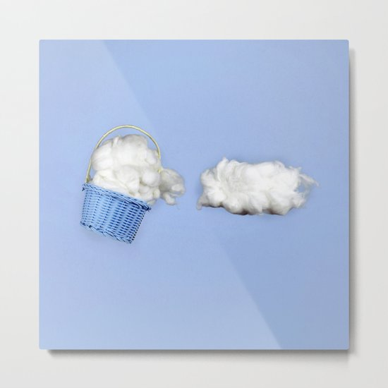 The cloud harvester Metal Print
