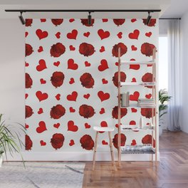 Romantic rose Wall Mural