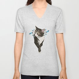 Indian cat Unisex V-Neck