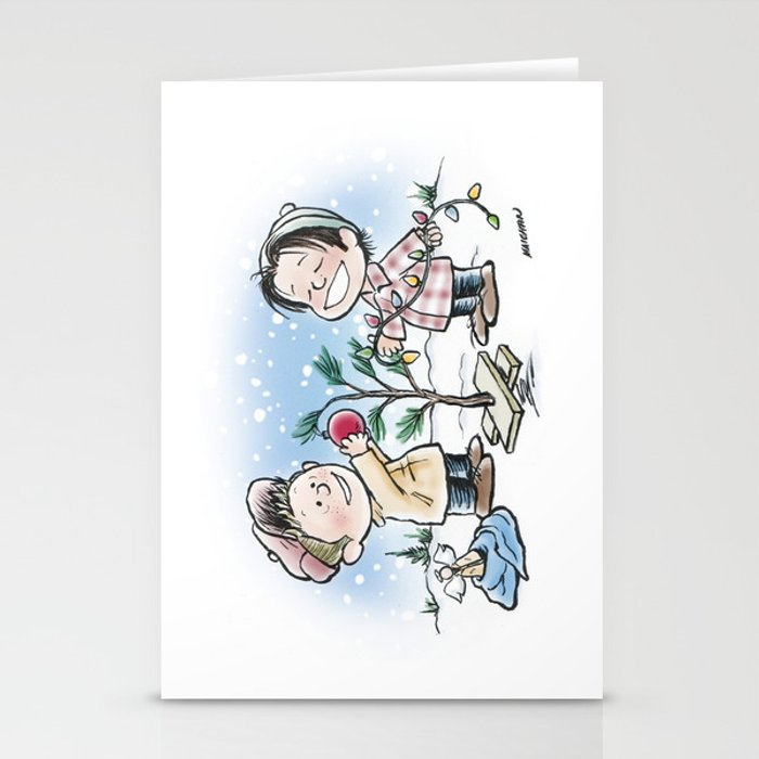 A Supernatural Charlie Brown Christmas Stationery Cards by maichan ...