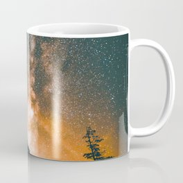 Night Sky Landscape Photography Stars Sky Coffee Mug
