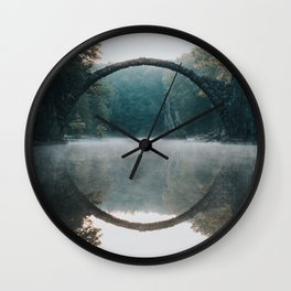 The Devil's Bridge - Landscape and Nature Photography Wall Clock