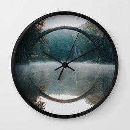 The Devil's Bridge - Landscape and Nature Photography Wall Clock