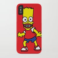 simpson iPhone & iPod Cases featuring Bart Simpson by GOONS