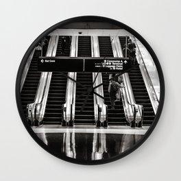 Escalators Wall Clock